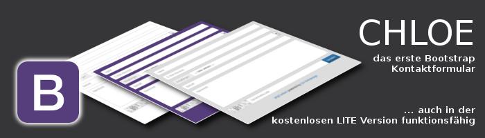 CHLOE - Bootstrap Kontaktformular