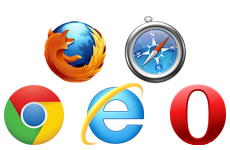Feature: Browser Kompatibilität